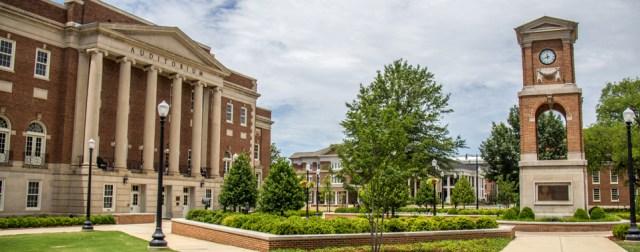 Malone-Hood Plaza on The University of Alabama campus