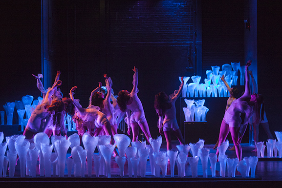 Scene from the dance 'aeolian'