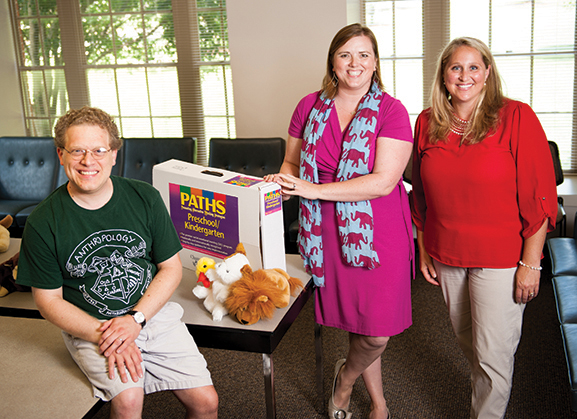 Drs. Jason DeCaro, Ansley Gilpin, and Caroline Boxmeyer