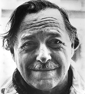 Tennessee Williams (Photo Credit: The Southern Literary Trail)