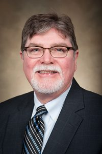 Dr. Nick Tew, the new director of UA's Center for Sedimentary Basin Studies