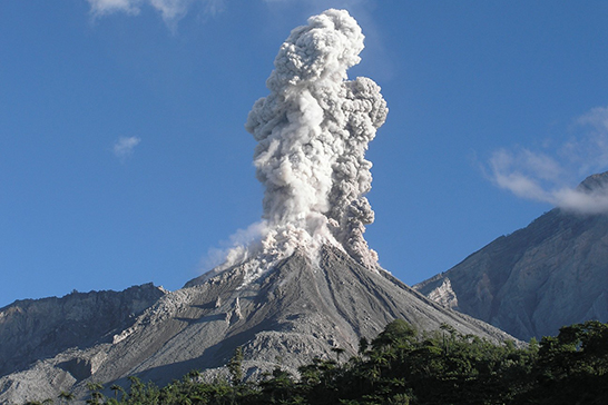 Dr. Kim Genareau saw this explosion first hand at the Santiaguito volcano in Guatemala.