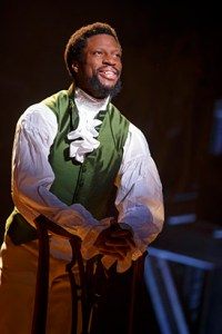 While auditioning for the smash-hit Hamilton, Michael Luwoye never imagined that he would make history playing both leads.