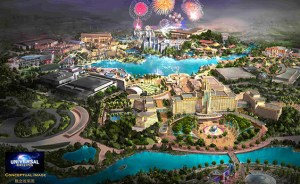 West's newest creation in Beijing will showcase over 20 rides and numerous other attractions for park attendees to enjoy.
