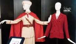 UA ROTC Honorary Cadet Uniform ca. 1934-1935 (left) and UA Crimson Girls Blazer and Blouse ca. 1968-1969 (right)