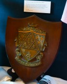 The plaque was awarded in 1904 when the Zeta Chapter of Kappa Delta was chartered at The University of Alabama.