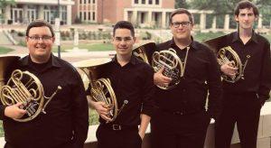 the Capstone Horn Quartet