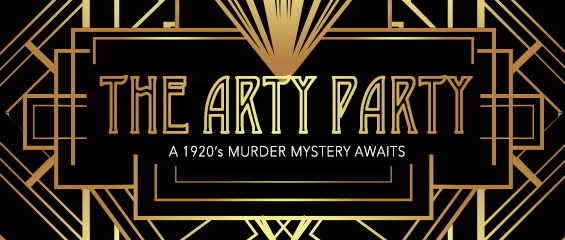 The Arty Party; a 1920's murder mystery awaits