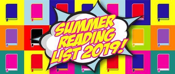 Summer Reading List 2019