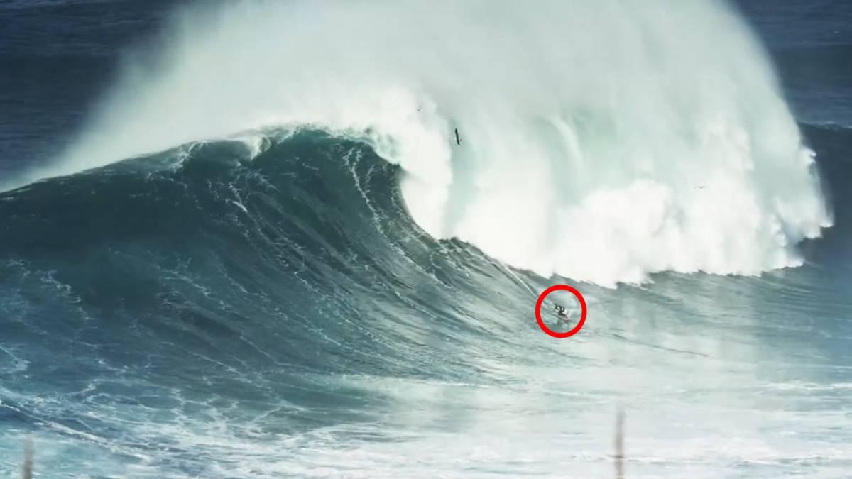 Surf Llegan Las Olas Gigantes A Nazar