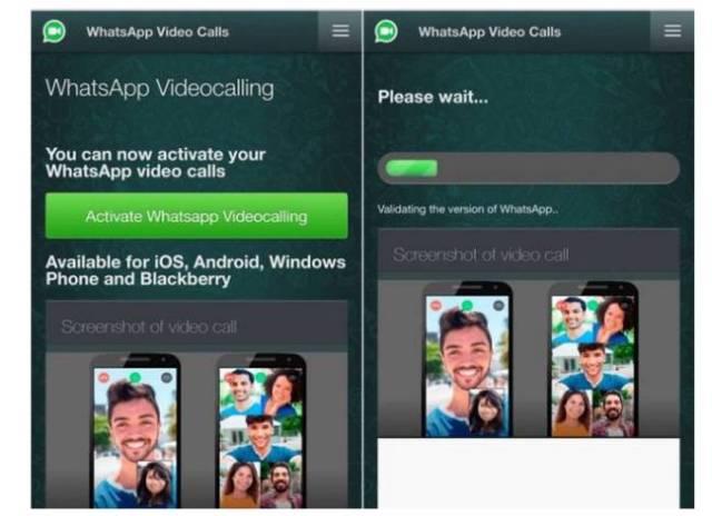 El timo de las videollamadas de WhatsApp de hace unos meses