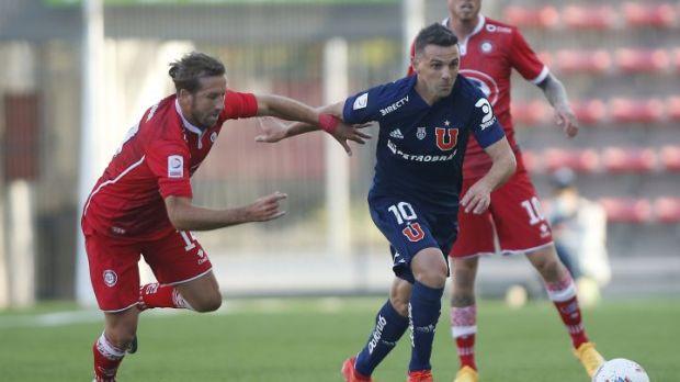 Sigue el minuto a minuto del duelo entre Unión La Calera y Universidad de Chile, que se juega hoy por la fecha 19 del Torneo Nacional, en AS.