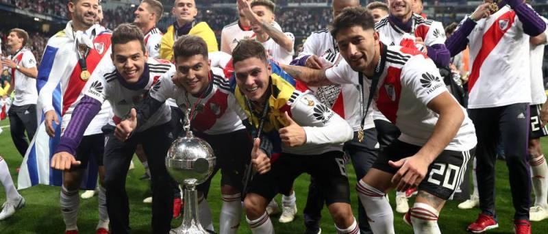 Juan Fernando Quintero y la celebración de la Copa