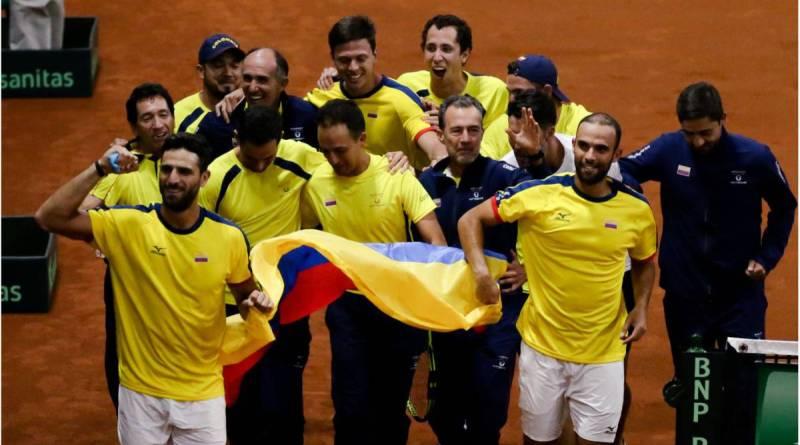 COPA DAVIS ¡Histórico! Colombia clasifica a la fase final de la Davis