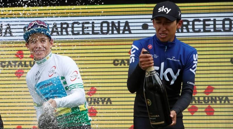 Giro de Italia 2019. Los colombianos MIGUEL ÁNGEL LÓPEZ y EGAN BERNAL, candidatos al título