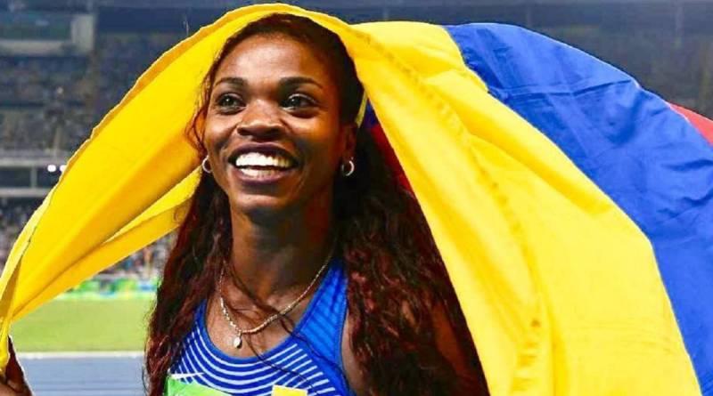 ATLETISMO. La colombiana Caterine Ibargüen, reina del salto triple se clasifica a los Juegos Olímpicos de Tokio