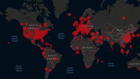 Mapa actualizado del coronavirus: cifras de casos confirmados y fallecidos