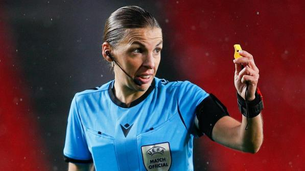 Stephanie Frappart to become first female official to referee in Champions League