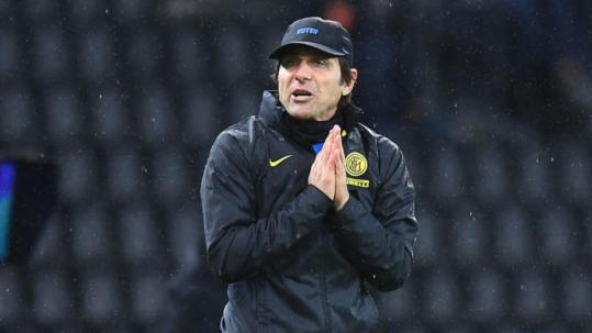Conte banned for two games after referee rant in Udinese stalemate