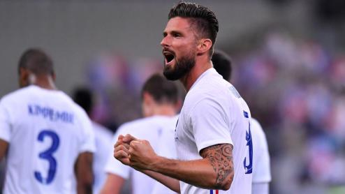 Giroud makes France history with 100th cap under Deschamps in Euro 2020 clash with Hungary