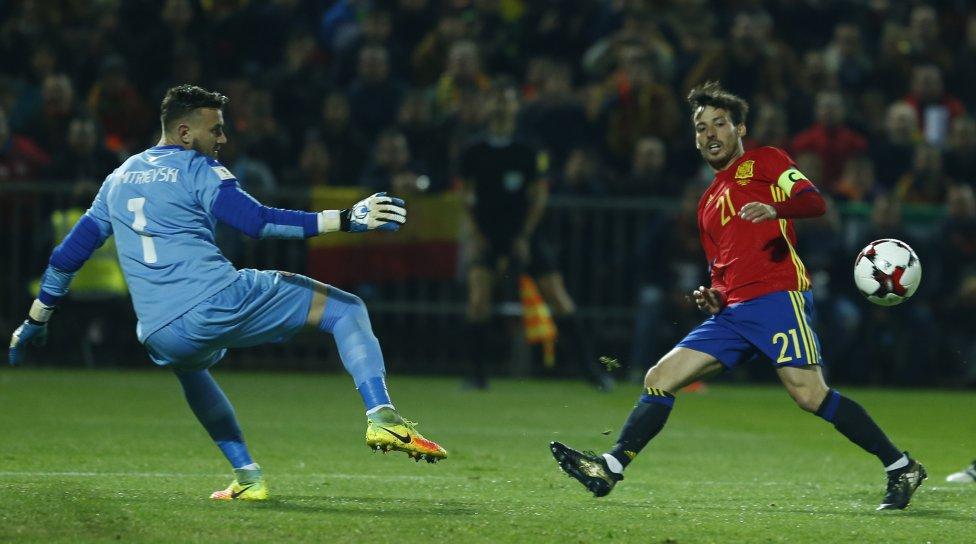 España-Macedonia en imágenes