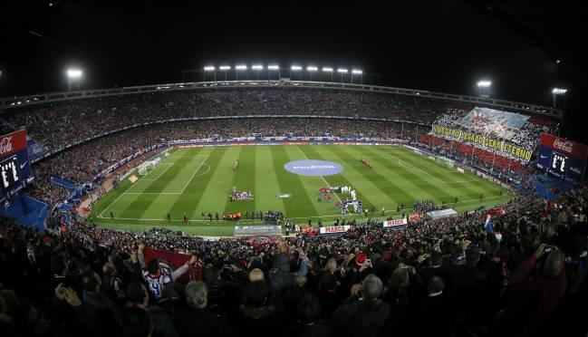 Estadio Vicente Calderón (Atlético de Madrid).