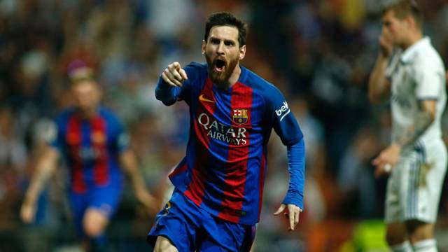 Real Madrid-Barcelona Messi goals summary and chronic
