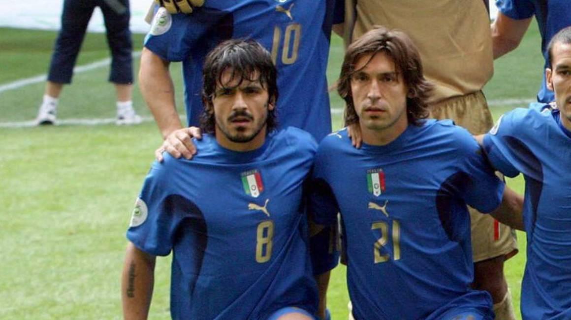 Kết quả hình ảnh cho Andrea Pirlo Gattuso
