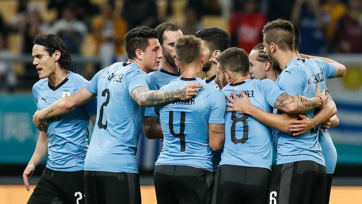 Image result for uruguay alineacion 2018