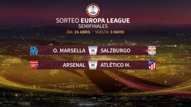 Arsenal de Ospina ante Atlético de Simeone en Europa League