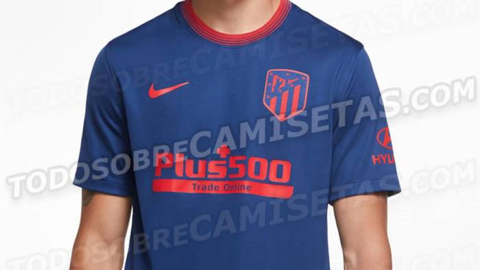 Camiseta Atlético de Madrid visitante 2020-21 1