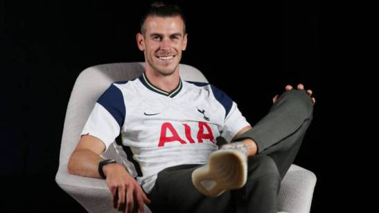 When will Gareth Bale make his debut for Tottenham Hotspur?