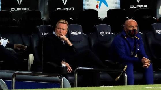 Dembele, Umtiti, Braithwaite: Koeman's not-so magnificent seven set for Camp Nou bench