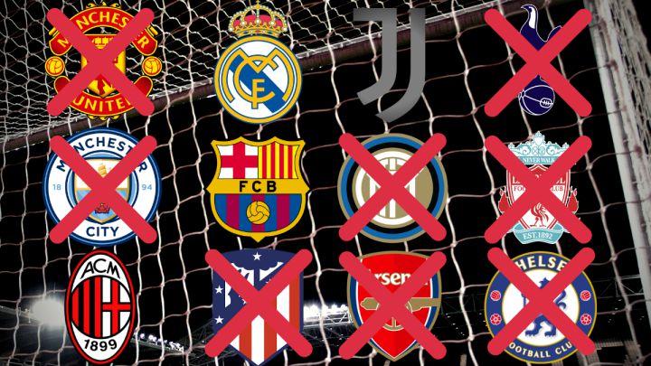 Superliga europea: última hora de los equipos inscritos, jugadores y renuncias en directo   UEFA y FIFA