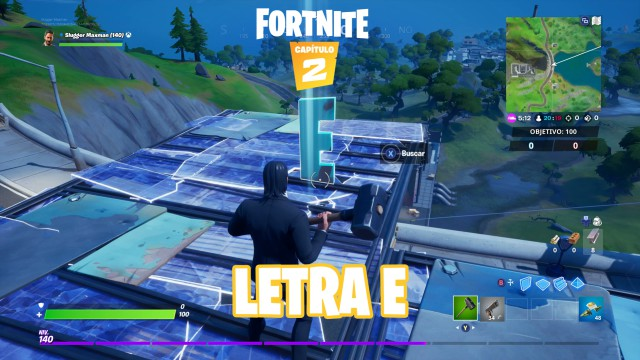 fortnite chapter 2 season 1 challenges to this challenge looking for the e hidden in the to this loading screen