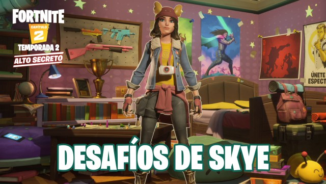 fortnite chapter 2 season 2 challenges of skye