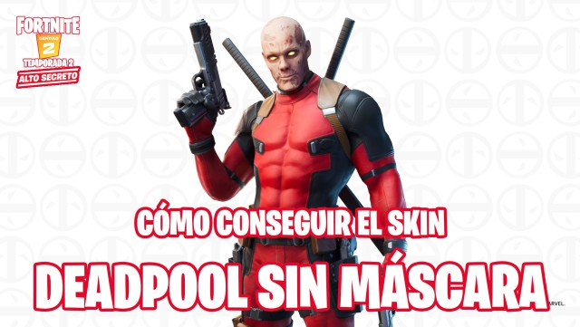 fortnite chapter 2 season 2 skin deadpool without mask how to get it