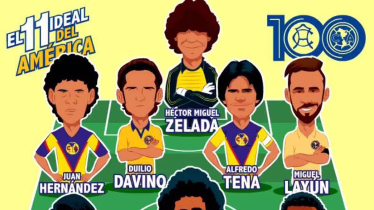 Club Tiempos Del Jugadores Los America Todos Los Mejores De