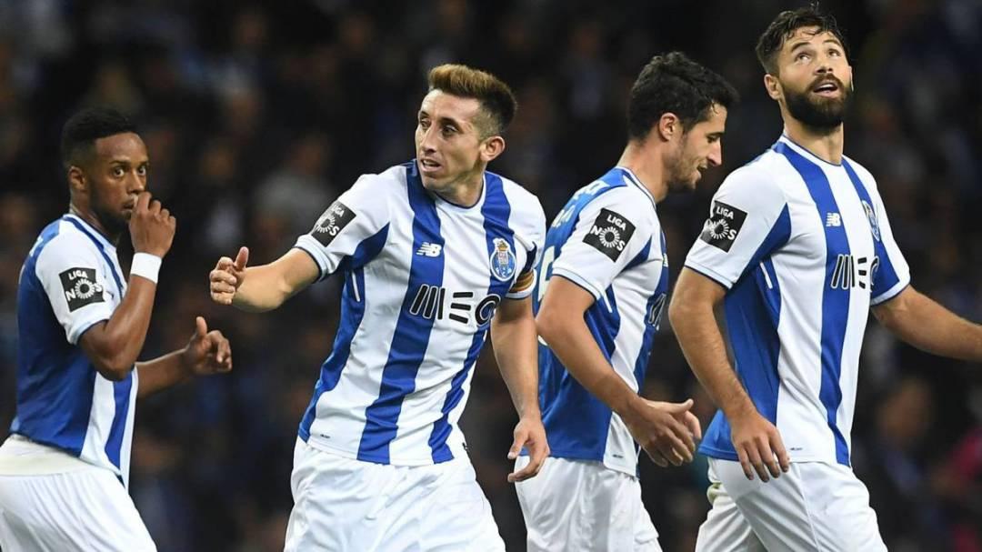 Resultado de imagen para Héctor Herrera comanda la victoria del FC Porto