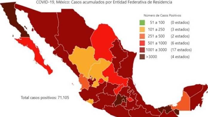 Coronavirus en México: resumen, casos y muertes del 25 de mayo ...