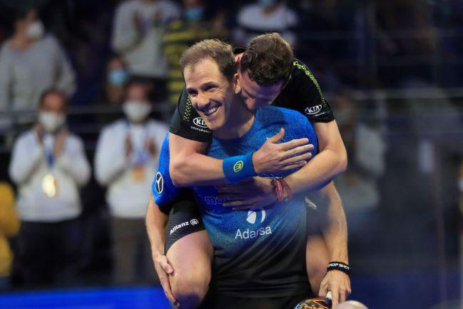 Paquito Navarro y Juan Martín Díaz en la final del Campeonato de España.