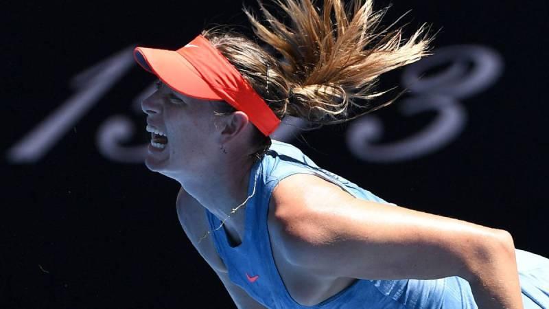Maria Sharapova, contra Harriet Dart