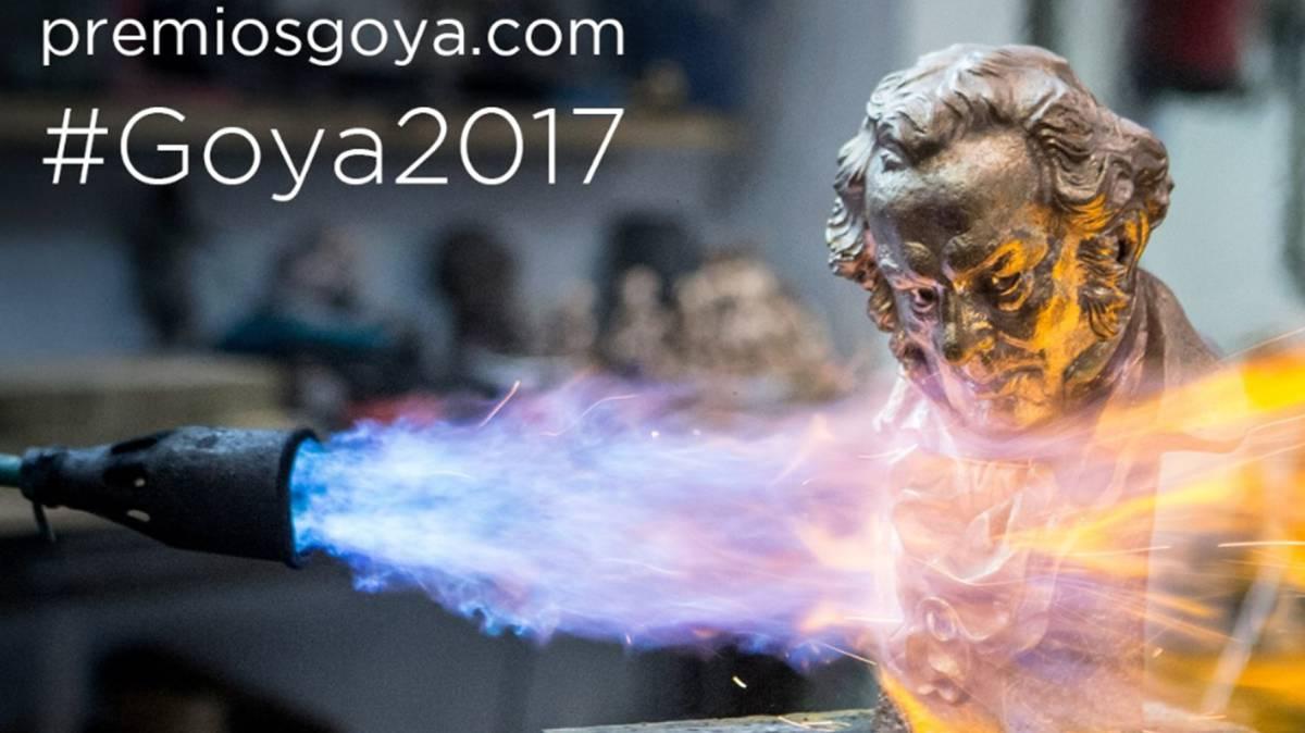 Resultado de imagen de premios goya 2017