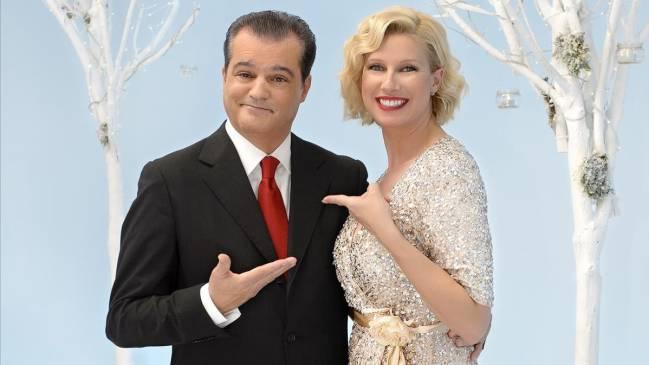 Ramón García y Anne Igartiburu, en La 1 de TVE