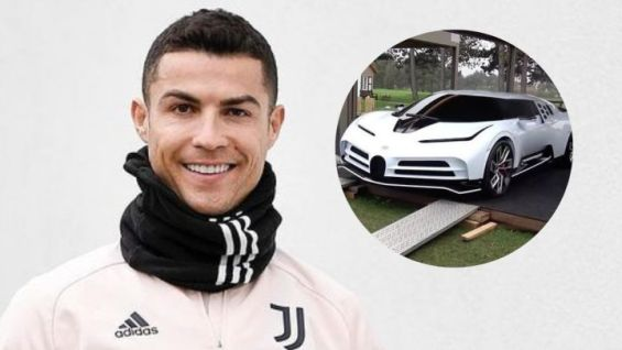 Ronaldo adds ultra-rare €8m Bugatti to incredible car collectiom