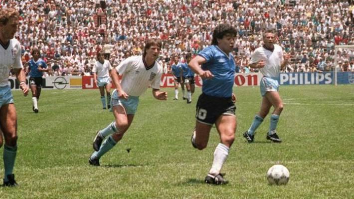 Por qué a Diego Maradona lo apodaron Barrilete Cósmico? - AS Argentina