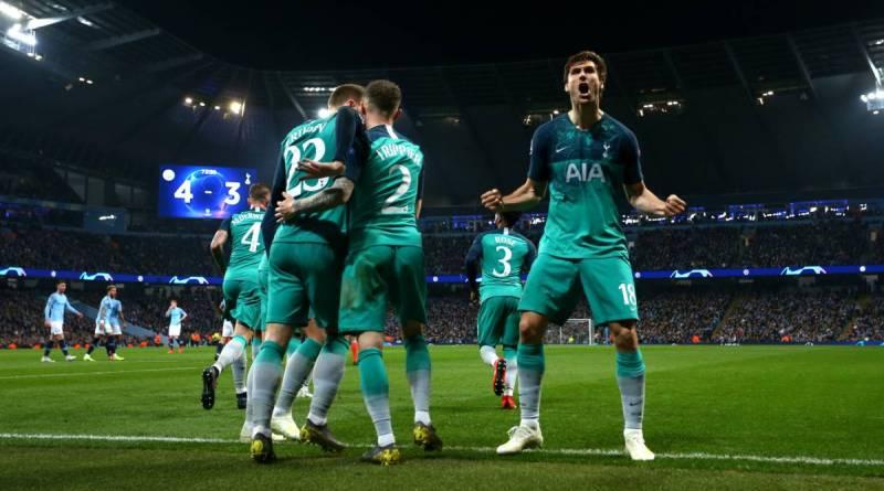 Champions. El Tottenham y el VAR echan a Guardiola de la Champions. Se enfrentará al  sorprendente AJAX