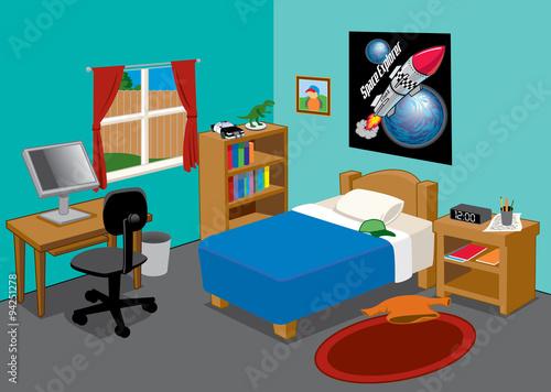 Kids Bedroom Buy This Stock Vector And Explore Similar Vectors At Adobe Stock Adobe Stock