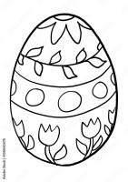 Malvorlagen Ostereier   Kinder zeichnen und ausmalen