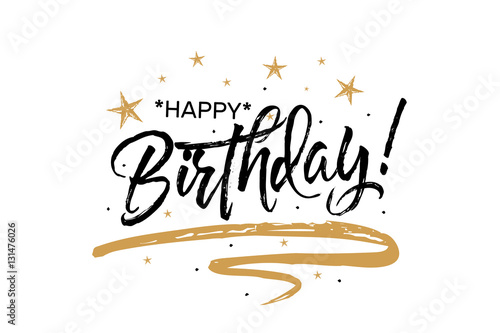 happy birthday. beautiful greeting